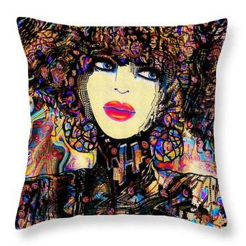 Evangelina Throw Pillow