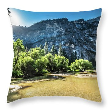 Eve Approaches- Throw Pillow