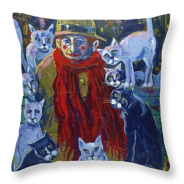 Eve In Park 16x20 Jpg Throw Pillow