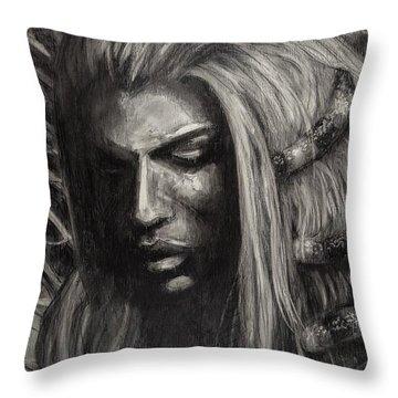 Eve Throw Pillow by Jason Reinhardt