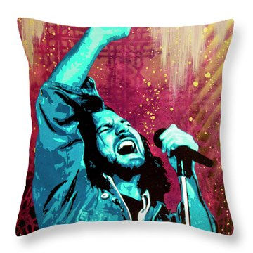 Pearl Jam Throw Pillows