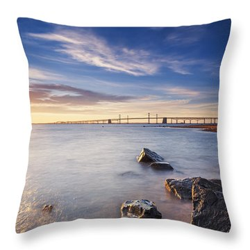 Throw Pillow featuring the photograph Even The Mistakes Aren't Really Mistakes At All by Edward Kreis