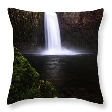 Evenflow Throw Pillow by Bjorn Burton