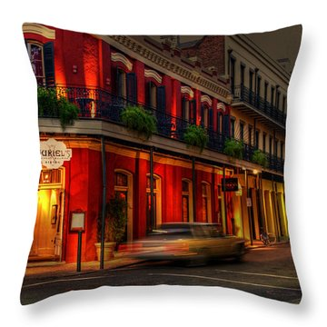 Evening At Muriels Throw Pillow by Greg and Chrystal Mimbs