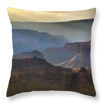 Evening At Pima Point Throw Pillow by Beverly Parks