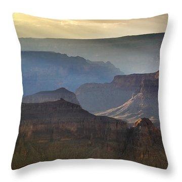 Evening At Pima Point Throw Pillow