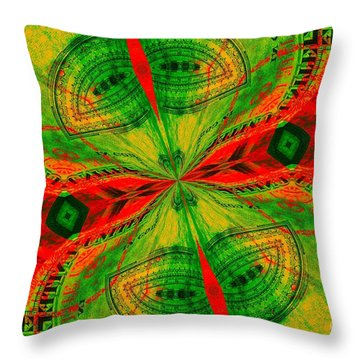 Evening Attitude Throw Pillow by Chad and Stacey Hall