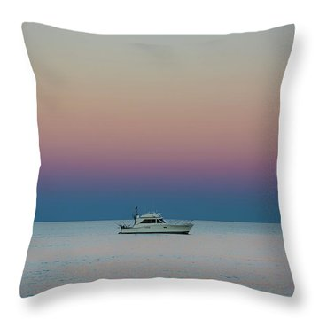 Evening Charter Throw Pillow