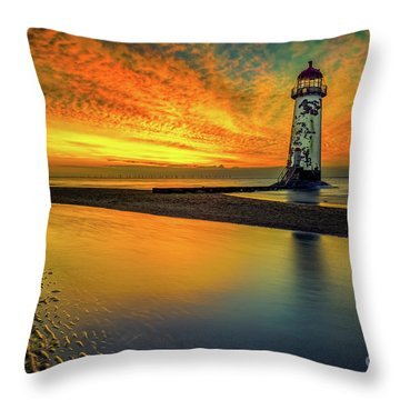 Throw Pillow featuring the photograph Evening Delight by Adrian Evans