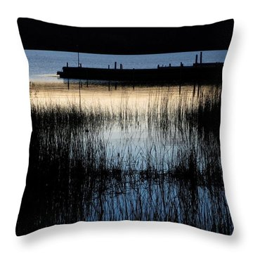 Evening Glow Throw Pillow by Mary Wolf