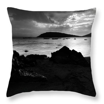 Throw Pillow featuring the photograph Evening In Le Gaulatte by Julian Cook