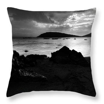Evening In Le Gaulatte Throw Pillow