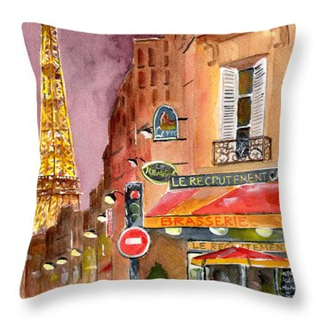 Tower Throw Pillows