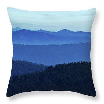 Oregon Blues  Throw Pillow