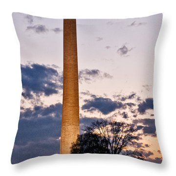 Evening Inspiration Throw Pillow