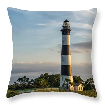 Throw Pillow featuring the photograph Evening Light by Gregg Southard
