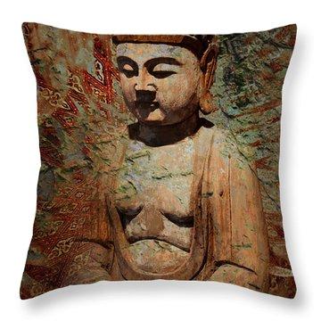 Evening Meditation Throw Pillow
