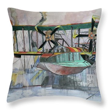 Evening Patrol Throw Pillow