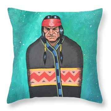 Throw Pillow featuring the painting Evening Prayer by Antonio Romero