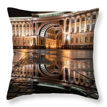 Evening Reflections Throw Pillow