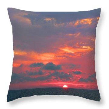 Evening Ritual Throw Pillow