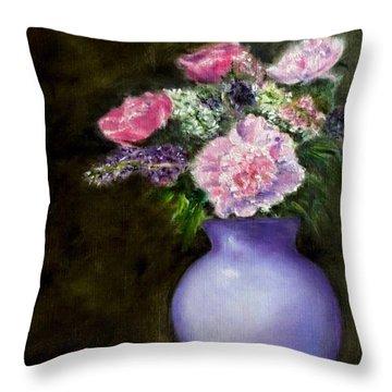 Evening Splendor Throw Pillow