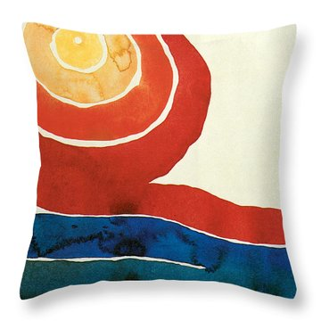 Evening Star IIi Throw Pillow