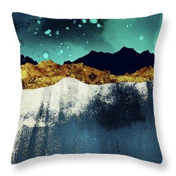 Evening Stars Throw Pillow