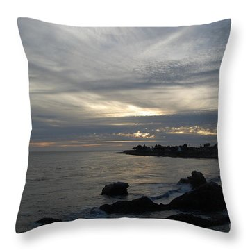 Evening Storm  Throw Pillow
