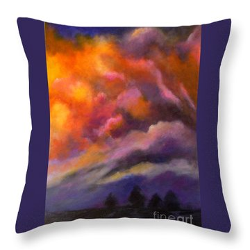 Evening Symphony Throw Pillow