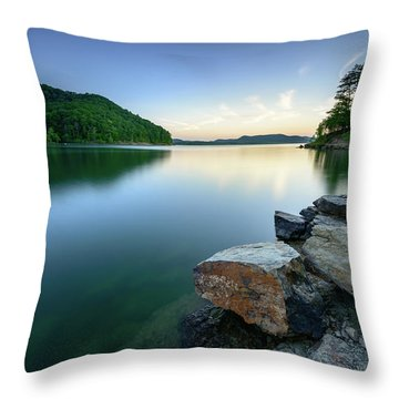 Evening Thoughts Throw Pillow