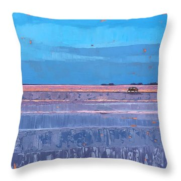 Evening Waters Throw Pillow