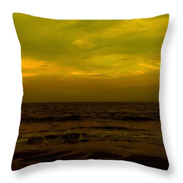 Evening's Contemplation Throw Pillow