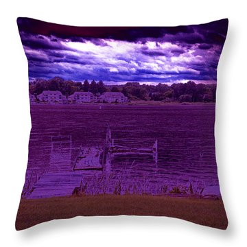 Event At The Bay Throw Pillow