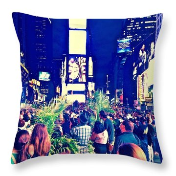 Event Throw Pillow by Gillis Cone