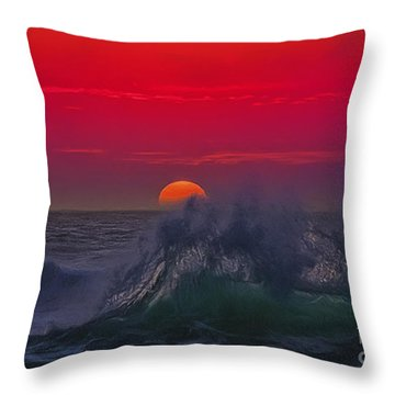 Eventide Throw Pillow by Billie-Jo Miller