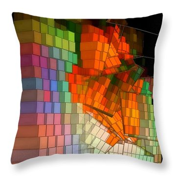 Eventually It All Falls Together Throw Pillow