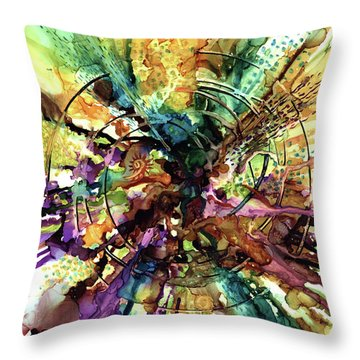 Ever Expanding Universe Throw Pillow