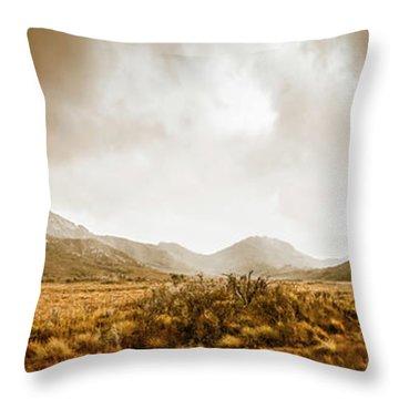 Ever Expansive Tasmania Throw Pillow