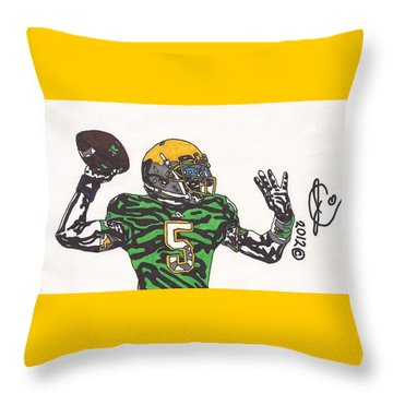 Everett Golson 1 Throw Pillow