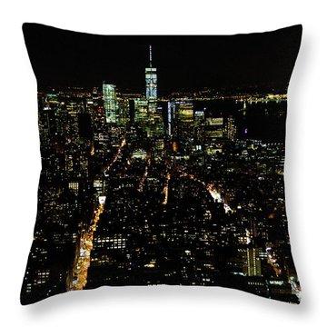 Everglow Of New York  Throw Pillow