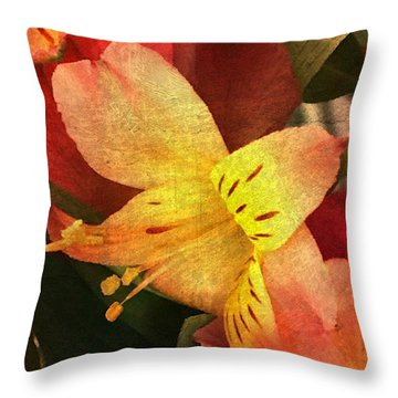 Throw Pillow featuring the photograph Everlasting  by Betty Pauwels