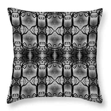 Everlasting Connections Throw Pillow by Rachel Hannah