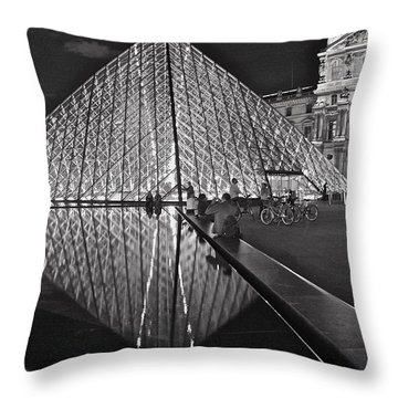 Throw Pillow featuring the photograph Every Day Life by Danica Radman