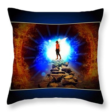 Every Man's Life Is A Fairy Tale Throw Pillow