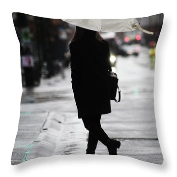 Every One Pays  Throw Pillow by Empty Wall