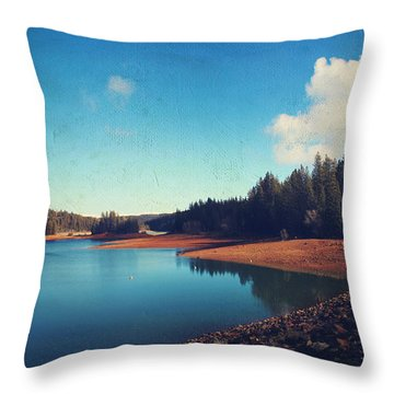 Every Time I Think Of You Throw Pillow