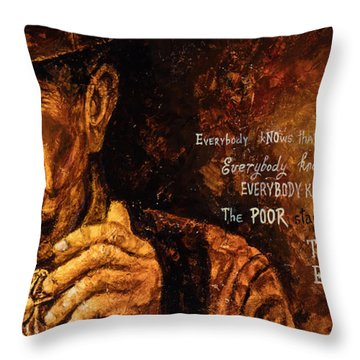 Everybody Knows Throw Pillow