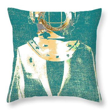 Everyday Diver Throw Pillow