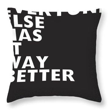 Reverse Throw Pillows